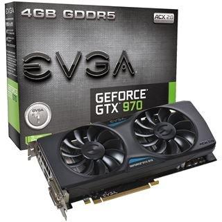EVGA GeForce GTX 970 ACX 2.0, 4GB GDDR5 + Witcher 3