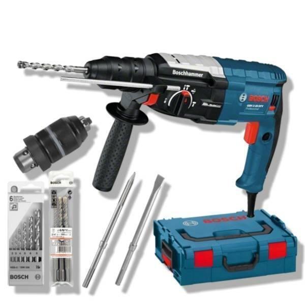 Bosch Bohrhammer GBH 2-28 DFV + L-Boxx + Zubehör