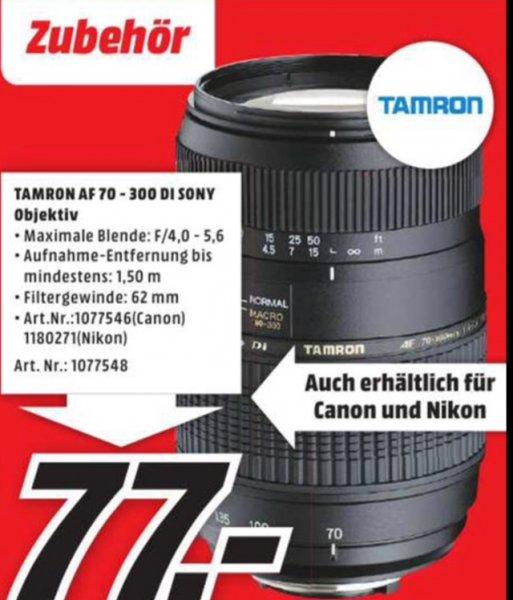 Tamron AF 70-300 Di für Sony, Canon und Nikon @ MM Hildesheim lokal