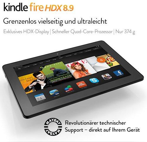 Kindle Fire HDX 8.9 Tablet WLAN + 4G LTE geprüfte Gebrauchtware @Talkpoint
