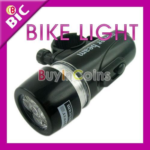 5 LED Fahrradlicht (vorne) für nur 1,60 € inkl. Versandkosten @Ebay