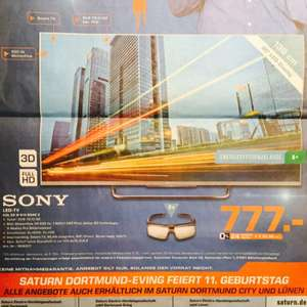 Saturn Dortmund Sony 55 W 815