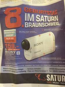 (Lokal Saturn Braunschweig) Sony Action Cam HDR-AS 100V * 30% unter Idealo