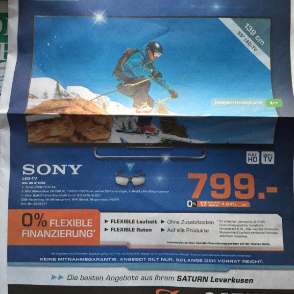 (lokal) Saturn Lev Sony 55 kdl w815b