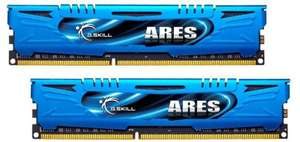 G.Skill Ares 8GB-DDR3-Kit (DDR3-2133, CL10-12-12-31) - 53,95€ @ getitquick/MeinPaket