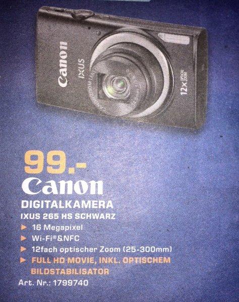 [lokal? LB] Canon Ixus 265 HS schwarz