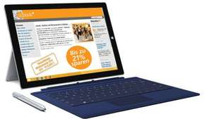 Microsoft Surface Pro 3 inkl.Type Cover ab 798,64€ im Microsoft Store