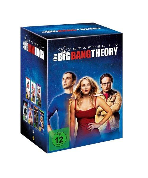 [Amazon] The Big Bang Theory - Staffel 1 bis 7 für 57,97 EUR / BluRay für 79,97 EUR