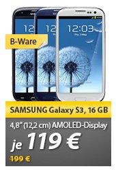 [B-Ware] Samsung Galaxy S III i9300 Smartphone 16 GB in 3 Farben für 119,00 € @ MeinPaket