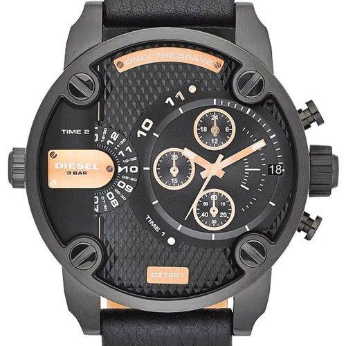 DIESEL Herren-Armbanduhr XL Little Daddy - Chronograph DZ7291 @meinpaket für 149,90
