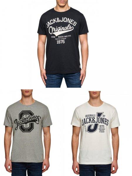 Jack & Jones T-Shirt´s im 3er Pack für 19,95€ inkl. VSK @ Jeans-direct