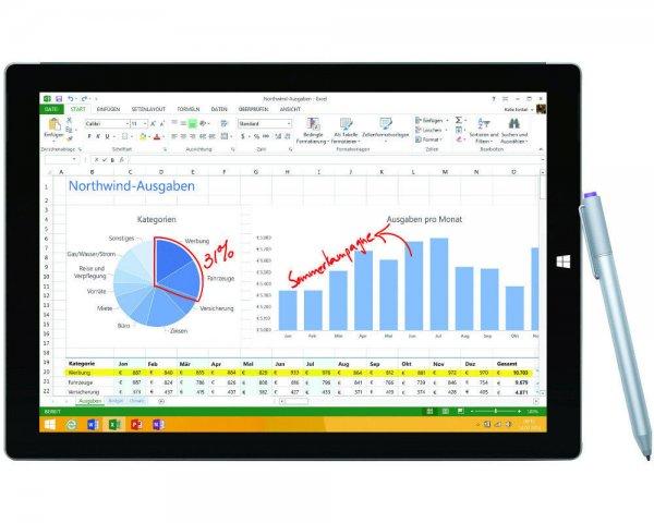 Microsoft Surface Pro3 - i3 64GB/4GB - 599,90€