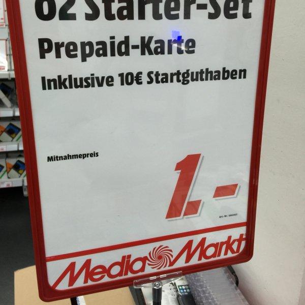 [Lokal Stuttgart Milaneo] O2 Loop Prepaid Karte mit 10€ Startguthaben im MediaMarkt