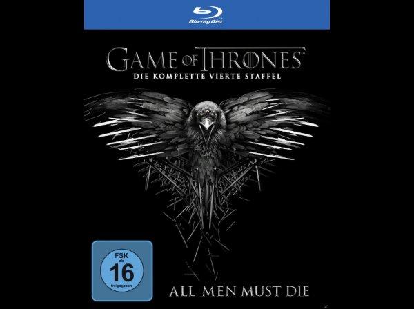 Game of Thrones Staffel 4 BluRay mit Saturn Newsletter Gutschein 33,99€