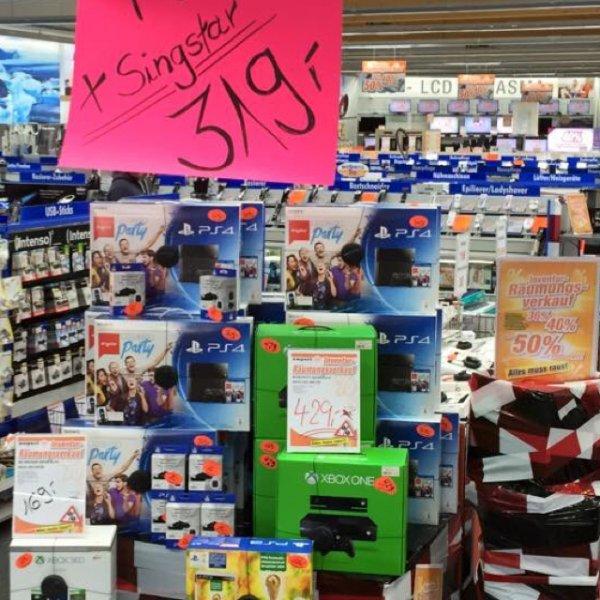 [Lokal] Expert Ibbenbüren PS4 Singstarbundle 319€