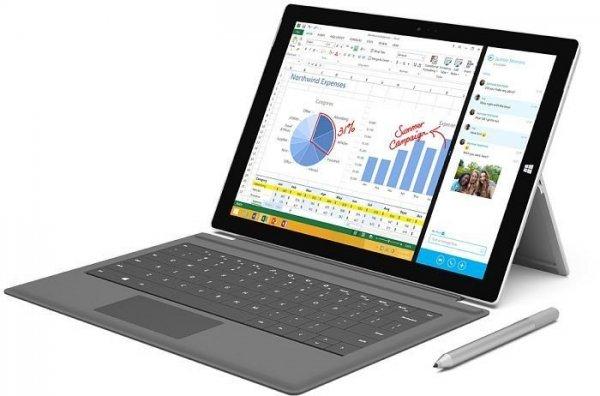 (Lokal) Saturn Leverkusen Microsoft Surface Pro 3 128GB inkl. Type Cover 3 für 749 Euro