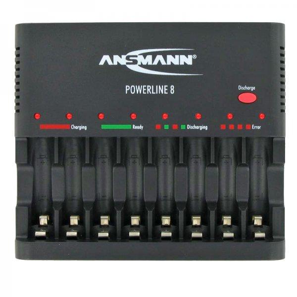 [SMDV SÜ] Ansmann Powerline 8 Akkuladegerät für 24€ (= 18% Ersparnis) *** Ansmann Powerline 4 Pro Akkuladegerät für 24€ (= 17% Ersparnis)