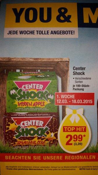 [Metro][Berlin ggf. Bundesweit] Center Shock, 100Stk. nur 3,20€. 12.03-18.03.2015