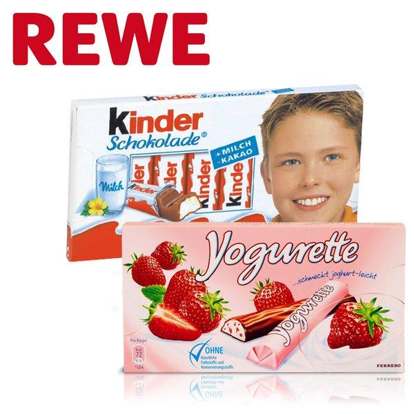 REWE Bundesweit AB 18.03.15  - Tafel Yogurette oder Kinderriegel für 0,69 EUR