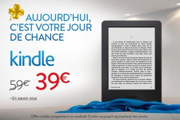 Kindle bei Amazon.fr - Versand nur nach Frankreich!!!! für 39 EUR