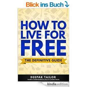 [Amazon Kindle Ebook] How to live for free (Englisch)