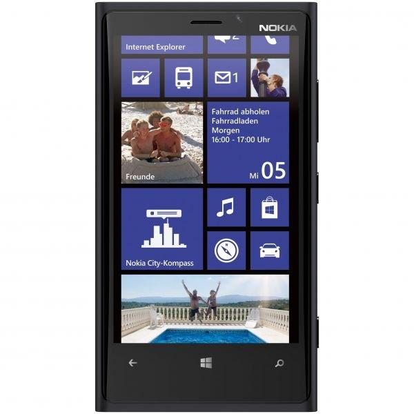 Nokia Lumia 920 Schwarz 4,5'', Snapdragon S4 Plus, 1 GB RAM, 32 GB Flash, Windows Phone 8.1 für 206,89 € @Getgoods
