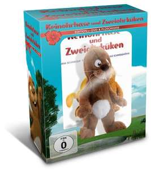 [Amazon] Animationsfilm Keinohrhase und Zweiohrküken DVD (+ Hase oder Küken) für 8,05 EUR (Prime-Kunden)
