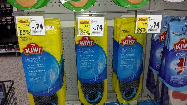 Kaufland KIWI Einlegesohlen 85% billiger Spottbillig.