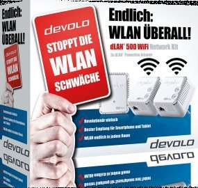 devolo dLAN 500 WiFi Network Kit  - 111€