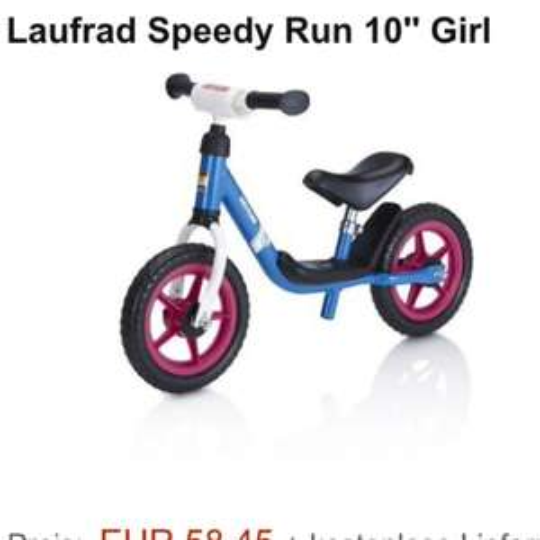 Kettler Laufrad Speedy Run 10Zoll