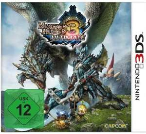 [WHD Prime] 3DS Monster Hunter 3 Ultimate 22,92 bei drittem, bei amazon 23,32
