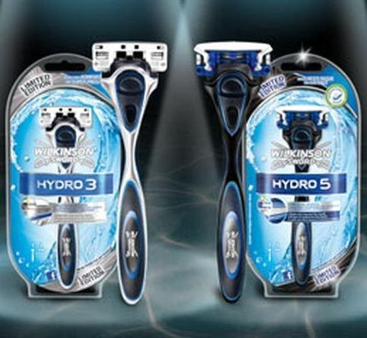 [KAUFLAND] Wilkinson Hydro 3 / Hydro 5 Black Edition inkl. 1 Klinge für 0,00€ (Aktionspreis + Coupon)