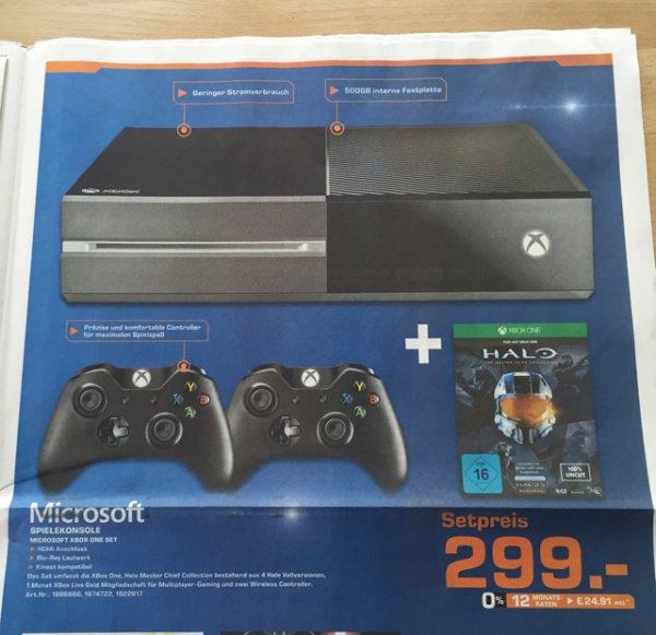 [LOKAL Saturn Nürnberg/Fürth] Xbox One mit 2 Controllern und Halo Masterchief Collection