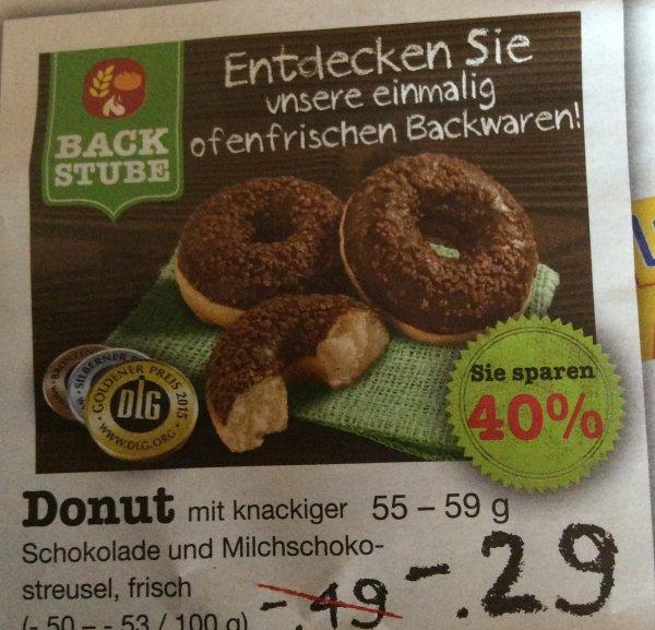 [Netto] Schoko oder Milchschokostreusel Donuts