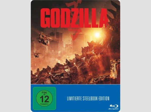 MediaMarkt Godzilla (2014) Blu Ray Steelbook 9.90€