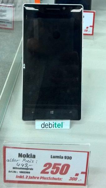 [lokal Media Markt Stralsund] Nokia/Microsoft Lumia 930 für 250€