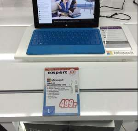 [Expert Technikmarkt] Surface Pro 2 (i5, 4GB RAM, 128GB SSD) für 499€