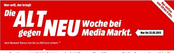 [Mediamarkt Online] Alt gegen Neu Aktion.....SONOS. Zb.Sonos Play 1 für 174,-€