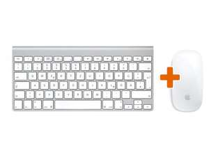 Apple Wireless Keyboard + Magic Mouse für 89,99 €   @gravis (online) versandkostenfrei