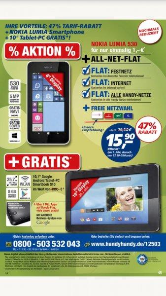 All-Net-Flat [real-markt] mit Smartphone und Tablet günstig