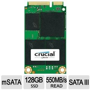 [MeinPaket / Redcoon] Crucial M550 128GB mSATA für 56€ (MP) bzw. 58€ (Redcoon) = 16% Ersparnis