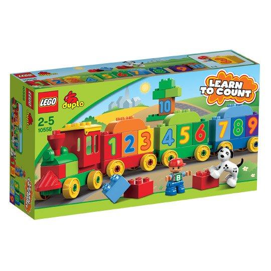 Lego Duplo Zahlenzug (kleiner Zug mit 3 Anhängern, kleine Figur + Hund) - 16,99€ @ real.de