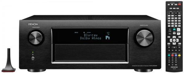 [Saturn online und vor Ort] Denon AVR-X4100W AV-Receiver schwarz und silber