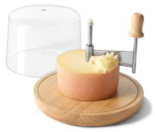 [7% Qipu] Käsehobel für Hartkäse und Schokolade inkl. Abdeckhaube für 6,95€ mit Lieferung in Filiale @Tchibo Online