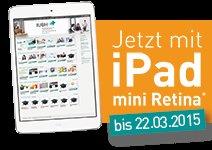 Nur 1€ für1x iPad mini Retina 16 GB & 12 Monate Fernstudium [DD]