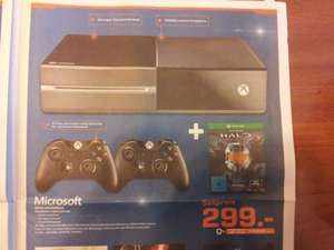 [Lokal: Saturn Schweinfurt] Xbox One mit 2. Controller + Halo Collection