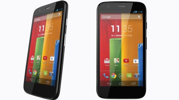 [Amazon.fr] Motorola Moto G (1. Gen) für 115€