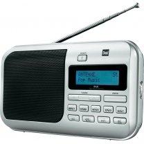 [Völkner] Dual DAB+ Radio DAB 4 Kofferradio Silber für 39,99 EUR