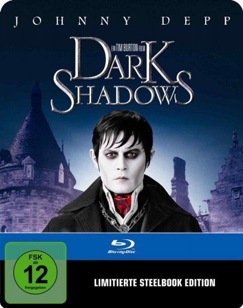 [Amazon] Dark Shadows - Limited Steelbook Edition - Blu-Ray für 8,97 EUR