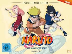 [Amazon] Naruto Gesamt-Box (Special Limited Edition mit 8 Postkarten & Poster) (34 Disc Set) für 234,97€